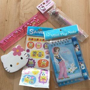 Sale! Hello Kitty Stationary Bundle ❤️